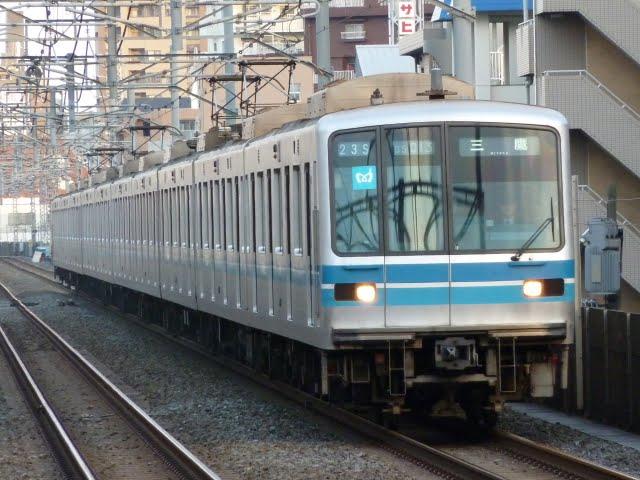東京メトロ東西線 三鷹行き2 05系幕式