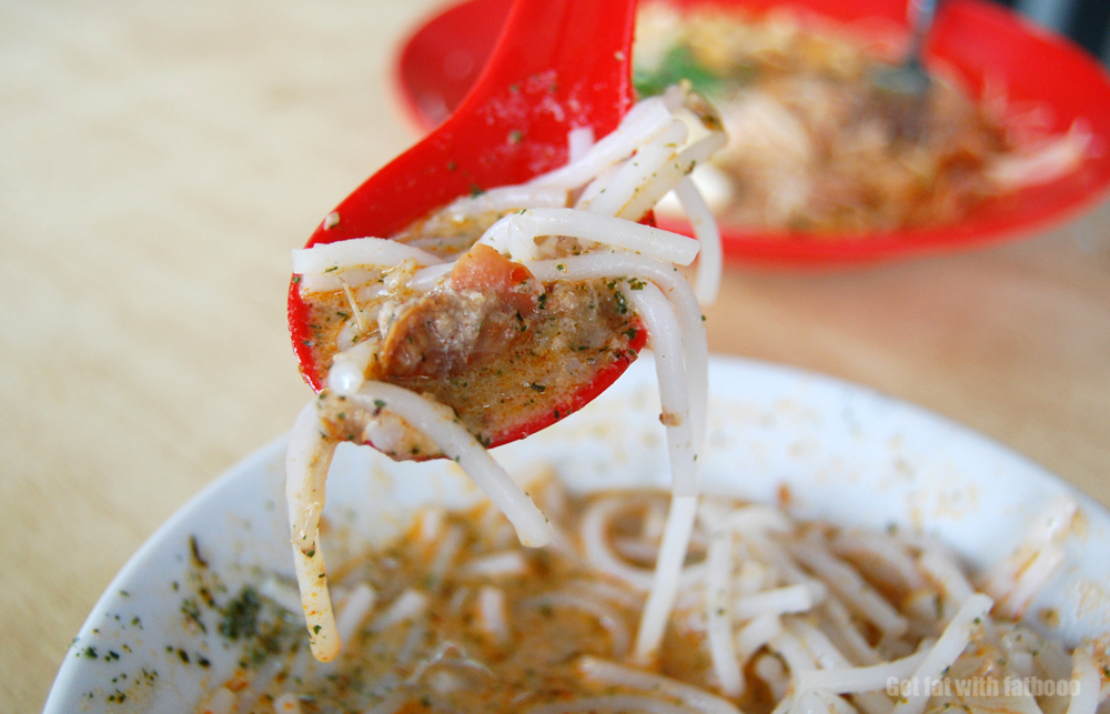 prawn laksa recipe. singapore laksa recipe