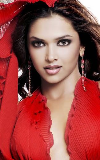 Deepika padukone hot and sexy red dress wallpaper