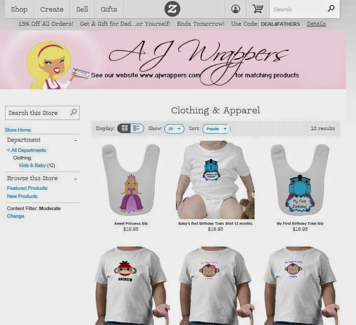 http://www.zazzle.com/ajwrappers?rf=238296720769944148