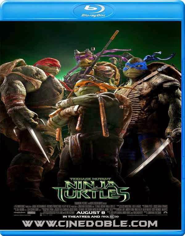 Las Tortugas Ninja (2014) 720p Español Subtitulado