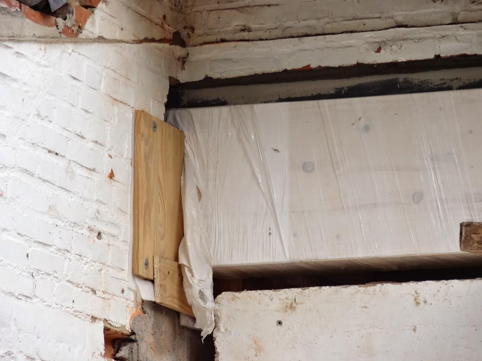 Ons ecologisch verbouwproject houten poutrel - Opruimen houten balk ...