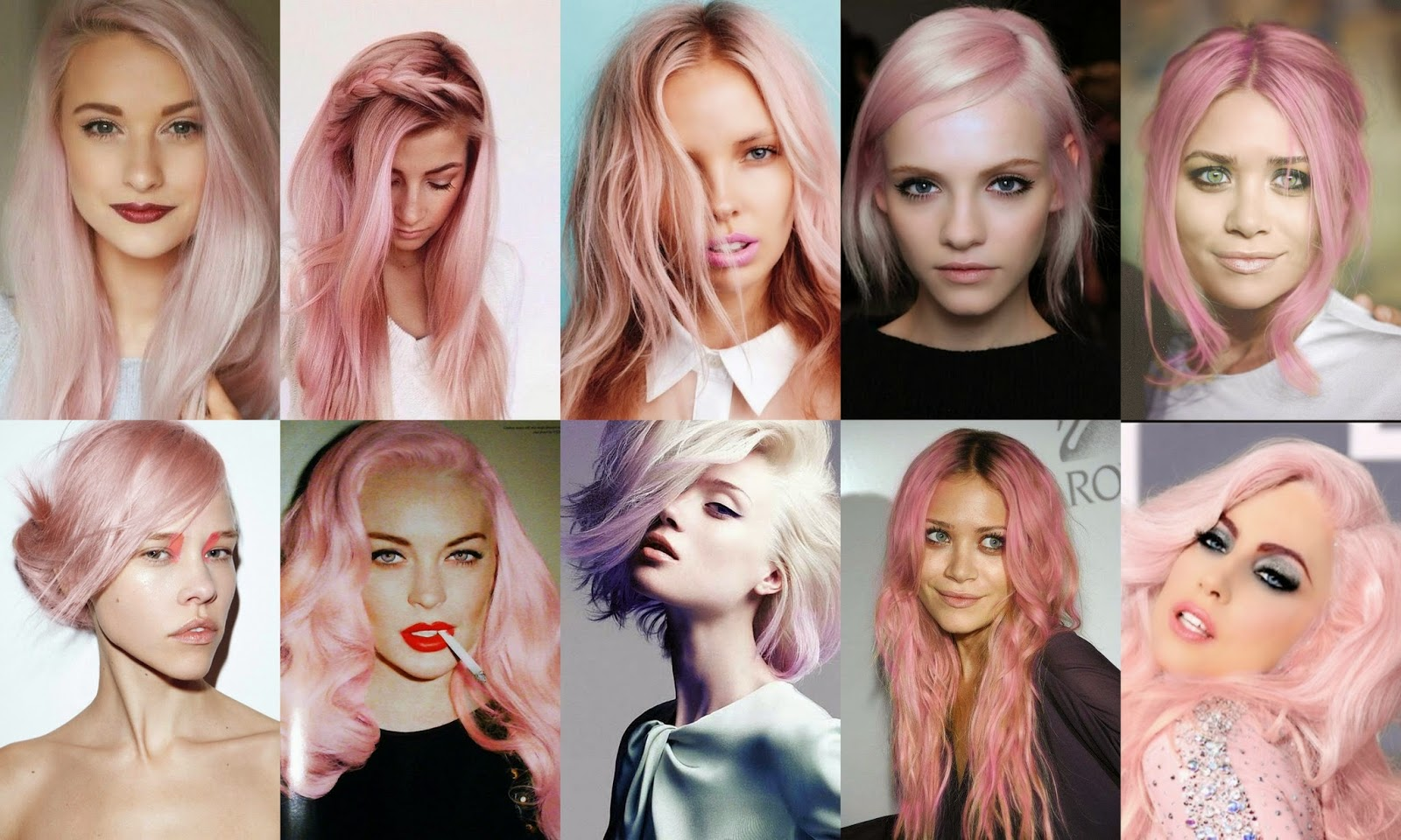 Semi Permanent Hair Color, Temporary Hair Color And Permanent Hair ...