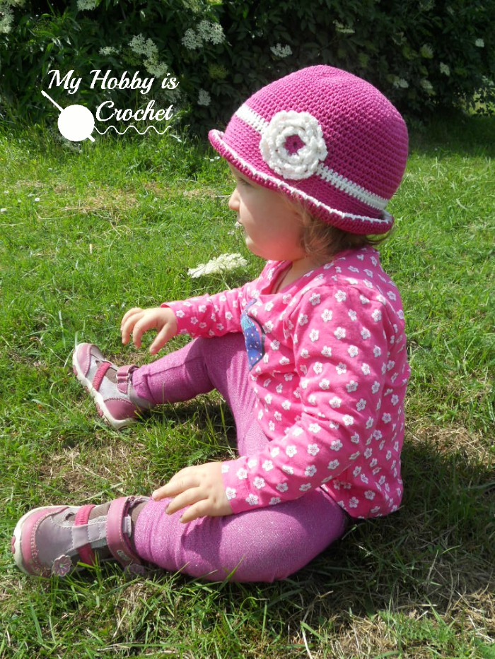 My Hobby Is Crochet: Toddler Cotton Sun Hat - Free Crochet Pattern ...