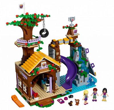 TOYS : JUGUETES - LEGO Friends  41122 Campamento de Aventura : Casa en el Árbol  Adventure Camp : Tree House  Producto Oficial 2016 | Piezas: 726 | Edad: 7-12 años  Comprar en Amazon España & buy Amazon USA