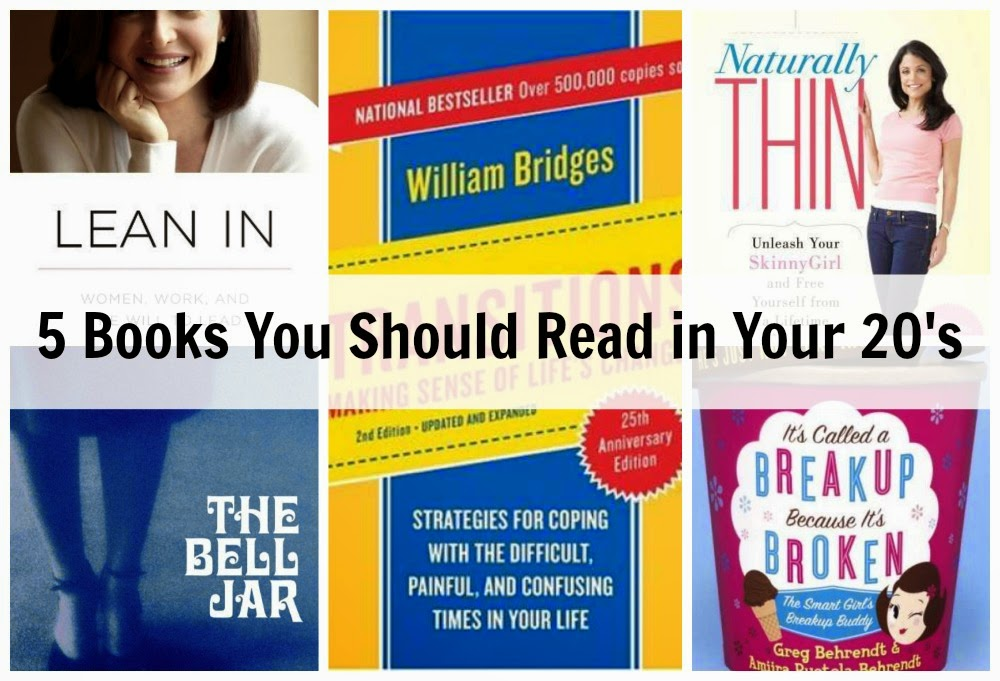 5 Books You Should Read in Your 20's