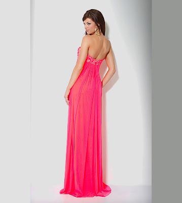 Long Bright Pink Bridesmaid Dress Designs   Wedding dresses, simple ...