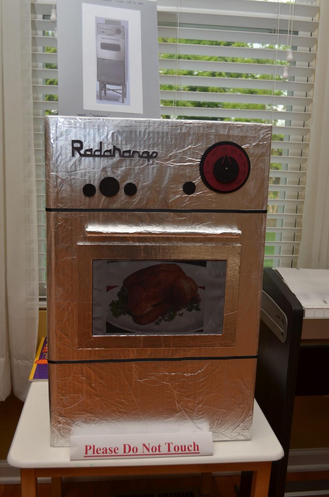 First Microwave Oven ~ Meashie radarange