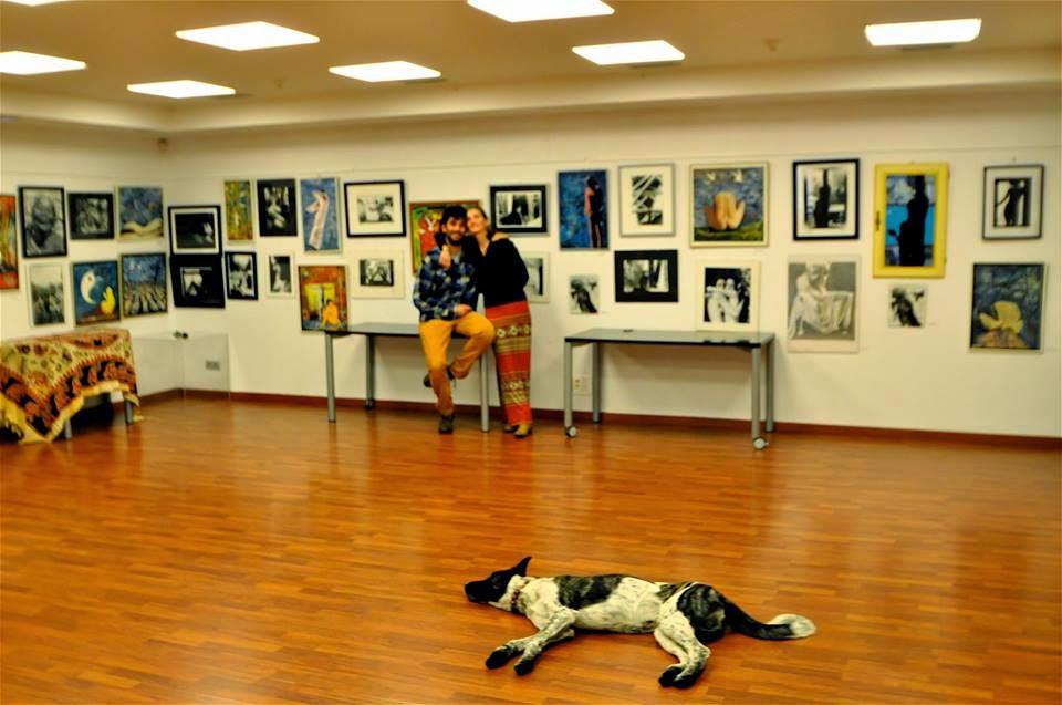Exposición foto-pintura , 2014
