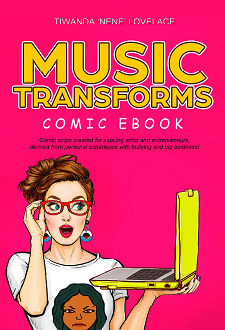 New! Music Transforms Comic eBook