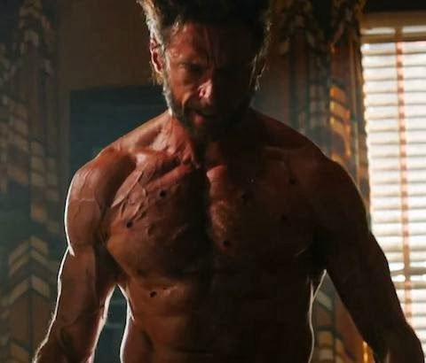 "Hugh Jackman as Wolverine in ""X-Men: Days of Future Past"""