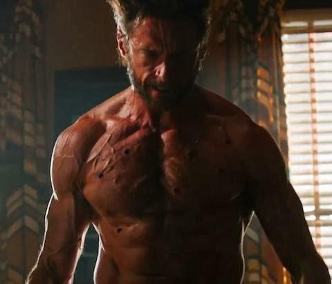 "Hugh Jackman as Wolverine in ""X-Men: Days of Future Past"""