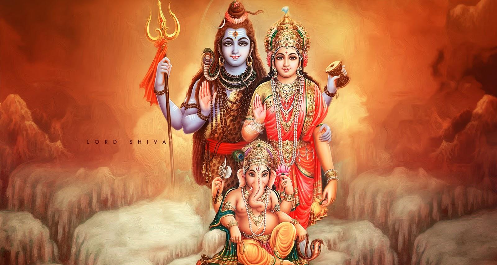 lord shiva family hd wallpaper | wallpapper