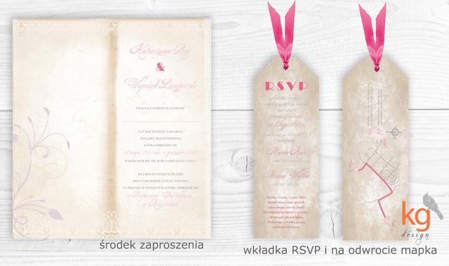 oryginalne i nietypowe zaproszenia ślubne, styl vintage, inspiracje, postarzane, eleganckie