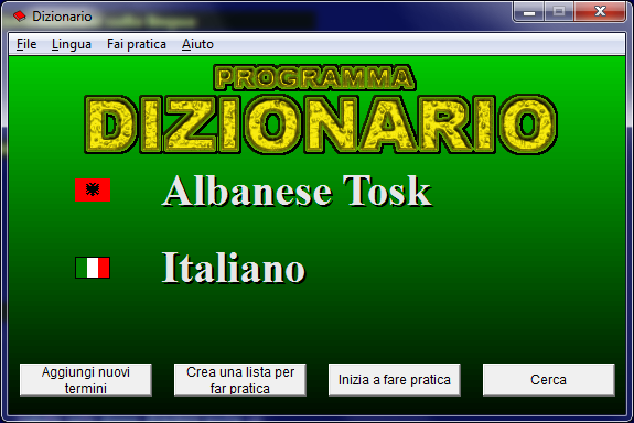 Fjalor italisht shqip & fjalor shqip italisht