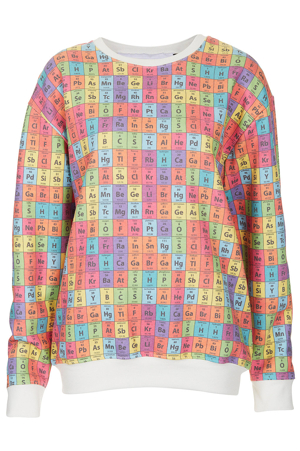 Domestic sluttery tee and cakes periodic table jumper tee and cakes periodic table sweatshirt is 35 from topshop and its already entertained me for hours when i opened my delivery the first element to gamestrikefo Choice Image