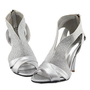 Foto de sapatos prata