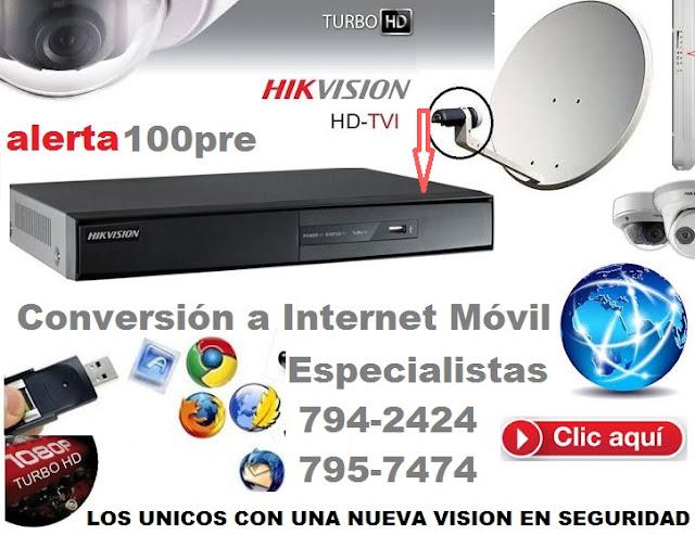 HIKVISION 3G PERU