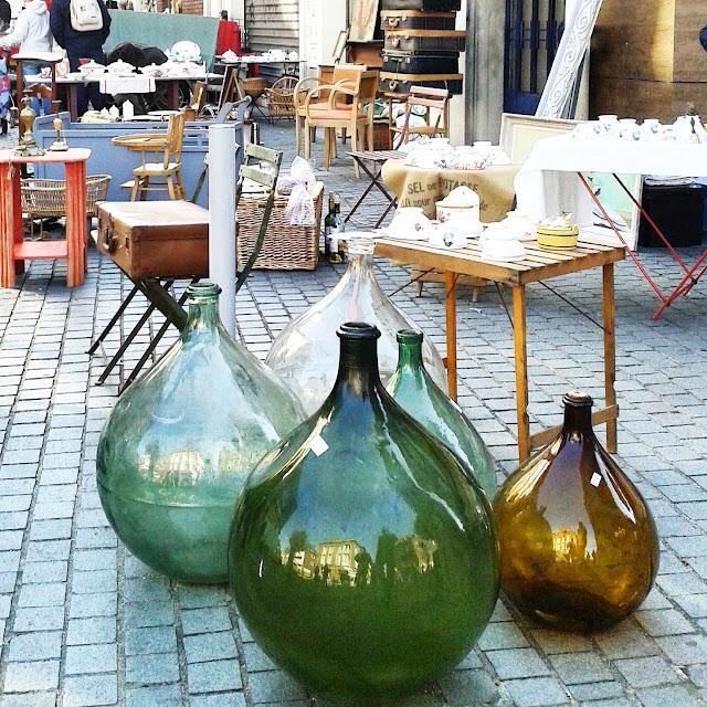 Dame Jeanne / Brocante Amiens / Octobre 2015 / Photos Atelier rue verte /