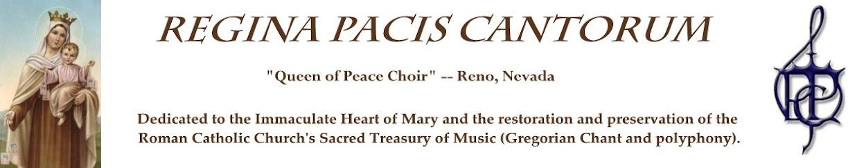 <i>Regina Pacis Cantorum</i>