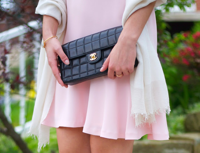 chanel chocolate bar bag via fashionphile