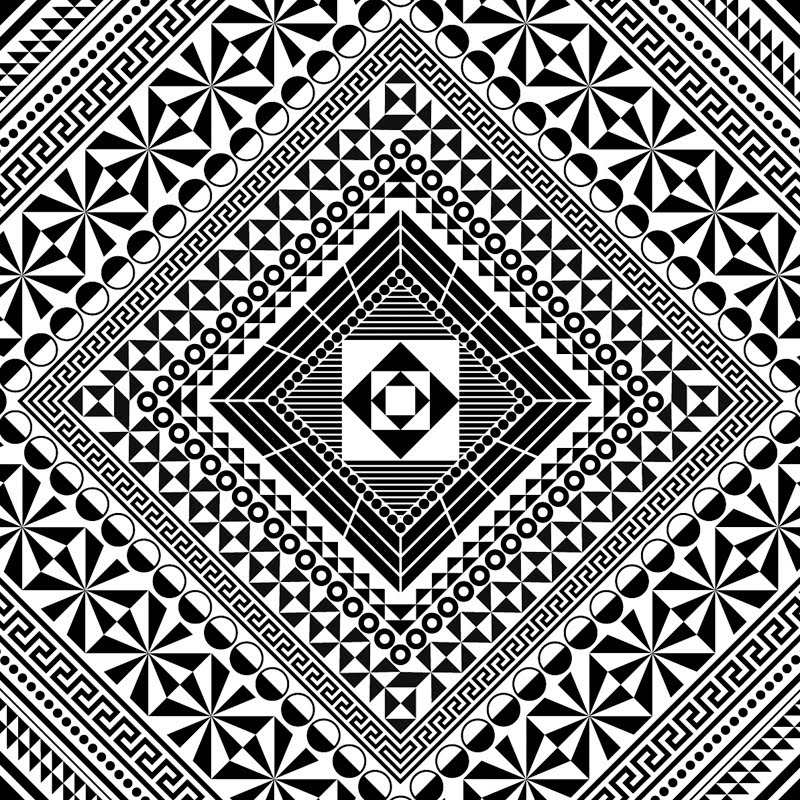 Square Simple Mandala Images & Pictures - Becuo Fattest Animal In The World