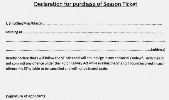 Trpa blog new declaration format commuters are advised to keep a copy of a photo identity card also with the above declaration while purchasingrenewing the season ticket thecheapjerseys Gallery