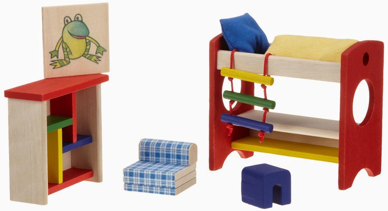 Selecta+4350++Muebles+para+casa+de+muñecas+%5BImportado+de+Alemania