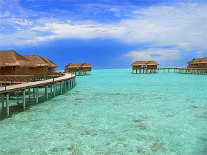 La Increible y Hermosa playa Maldivas