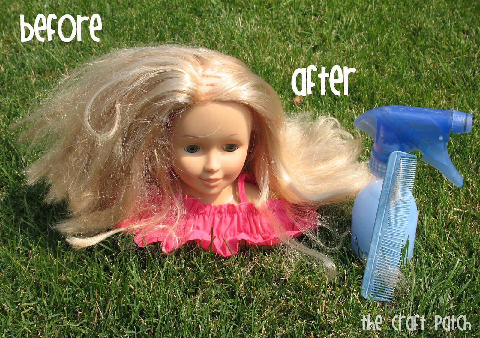 pinterest tested doll hair detangler. Black Bedroom Furniture Sets. Home Design Ideas