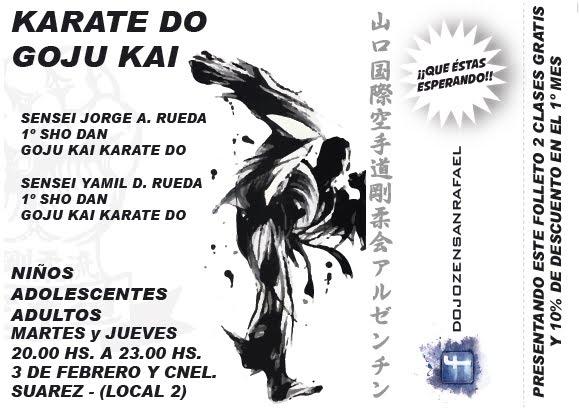 Click en la Publicidad Karate