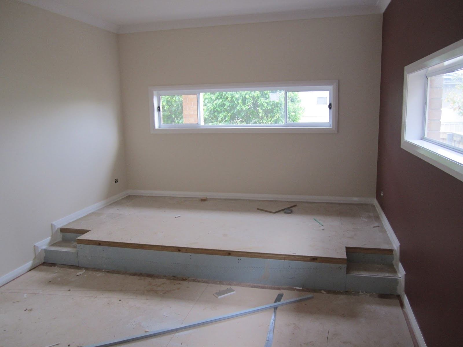 how to build a platform bed with casters