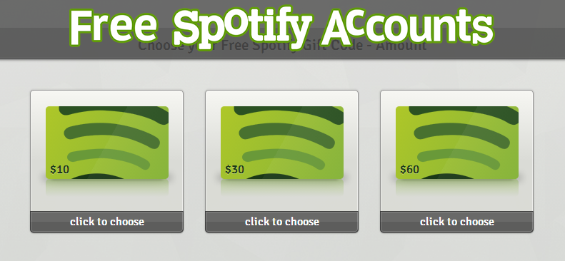 how to create premium account spotify free
