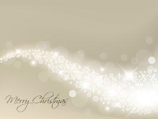 光が波打つクリスマス ボールの背景 christmas background vector イラスト素材2