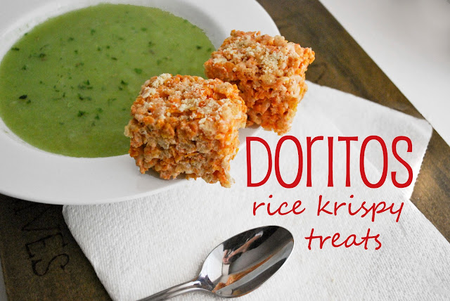 Doritos Rice Krispy Treats
