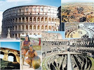 โคลอสเซียม สนามกีฬากรุงโรม อิตาลี