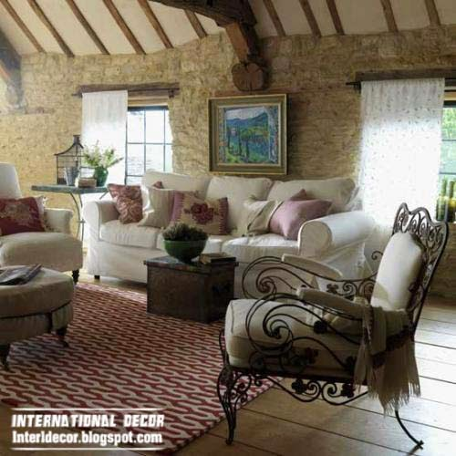 Interior Design 2014 Country Style Living Room 2014