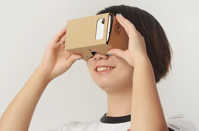 VIDEO: How a DIY Google Cardboard VR headset works