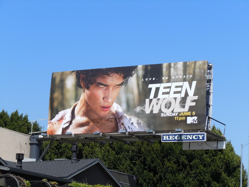 Teen Wolf MTV teaser billboard