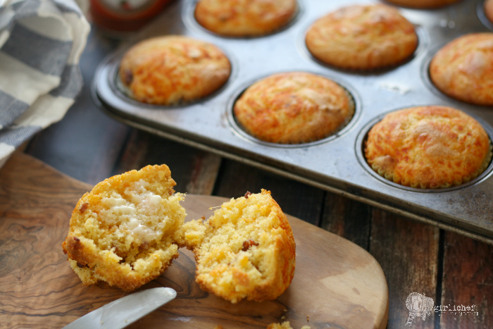 Bacon Cornbread | breads, rolls, muffins, scones, creapes, pancakes ...