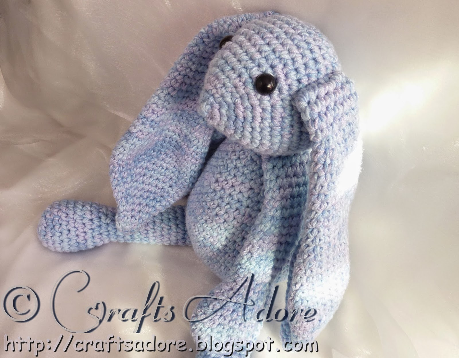 Crochet Amigurumi Bunny Soft Toy