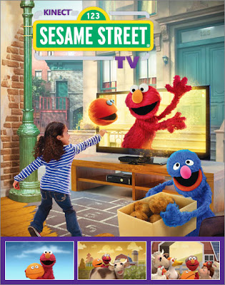 Sesame Street, TV, Kinect, Xbox, 