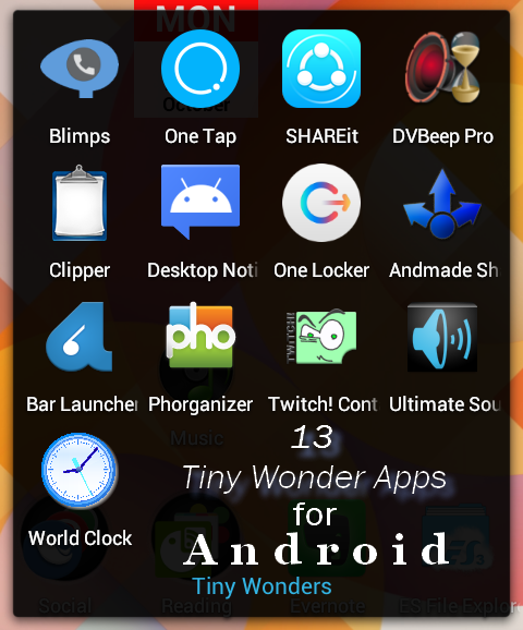 Wonderful-tiny-android-apps