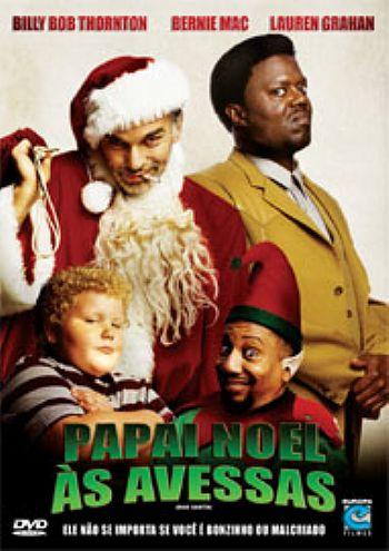 Filme Poster Papai Noel às Avessas DVDRip XviD & RMVB Dublado