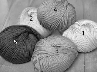 comment choisir ses couleurs de laine avec une photo en noir et blanc