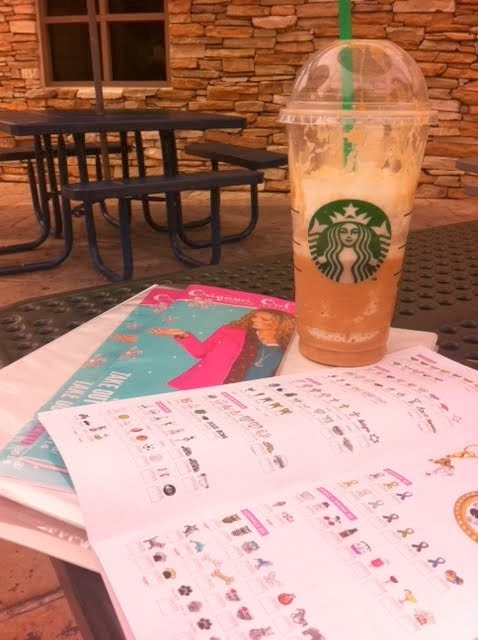 Origami Owl & Starbucks Break