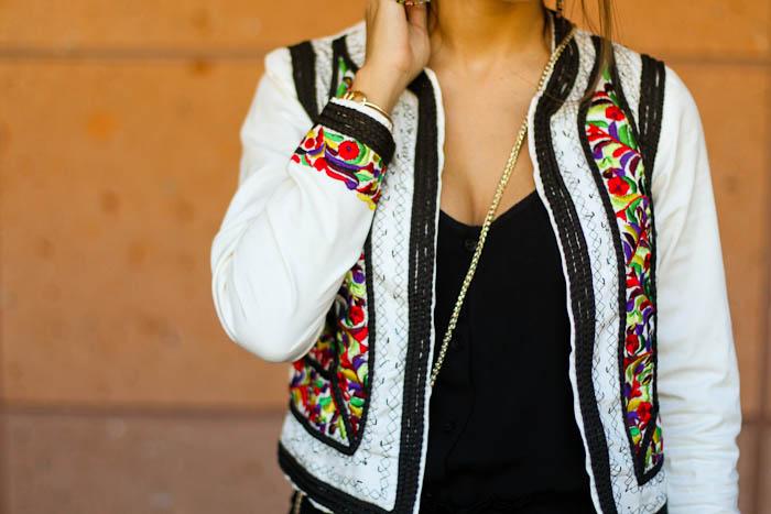 asos embellished jacket