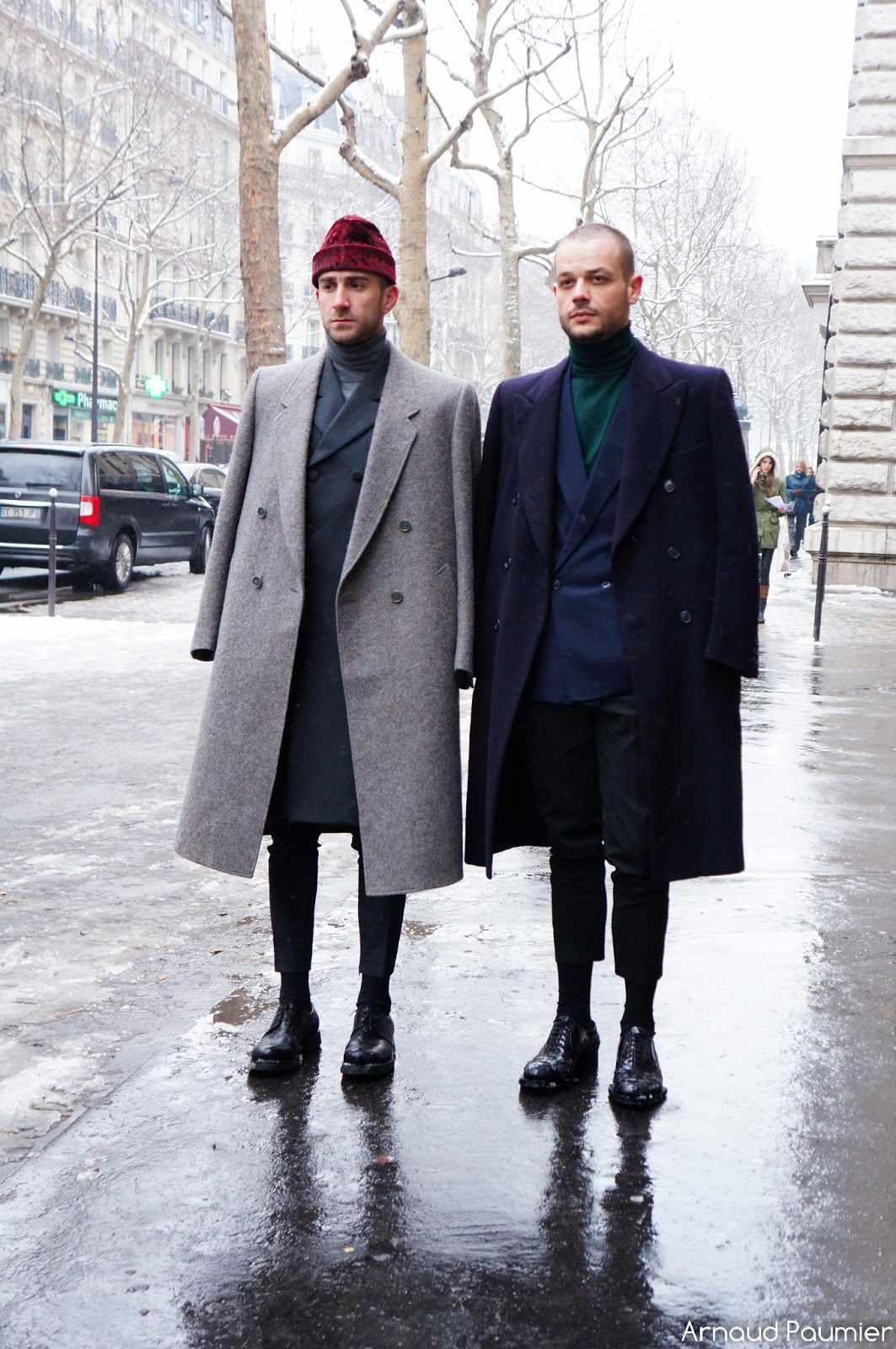 Street Style Fall 2013 Menswear Dior Homme Paris Photo Street Style During The Fashion Week