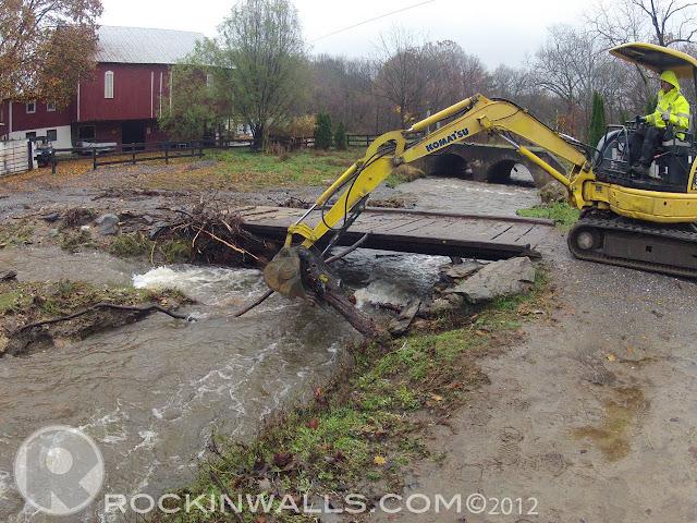 ROCKIN WALLS: Storm Sandy Clean Up 10/30/12