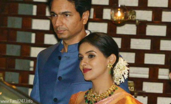 actress asin wedding photos